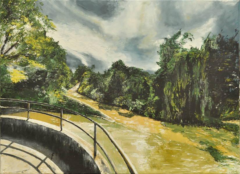 Under the Bridge, Gemälde